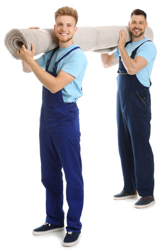 Zwei Männer beim Umzug